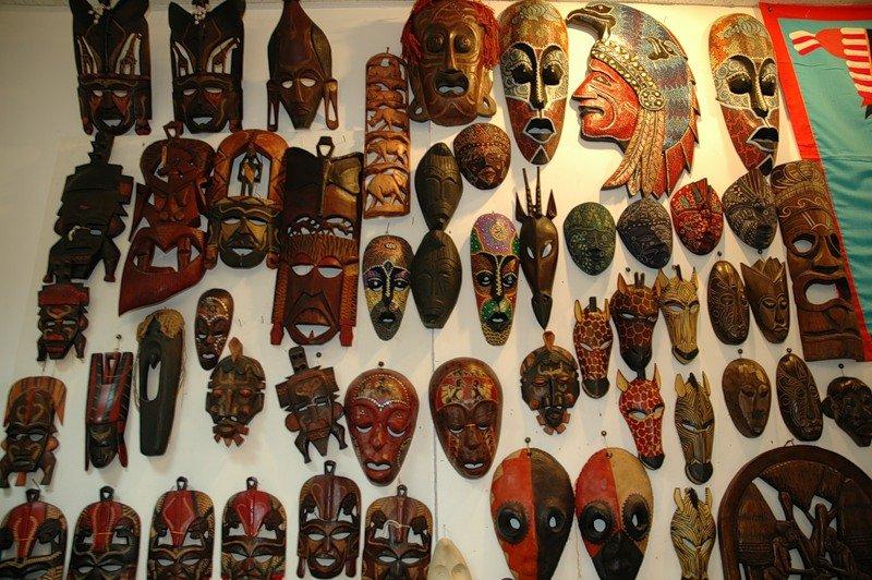 африканские маски зла фото и их значение