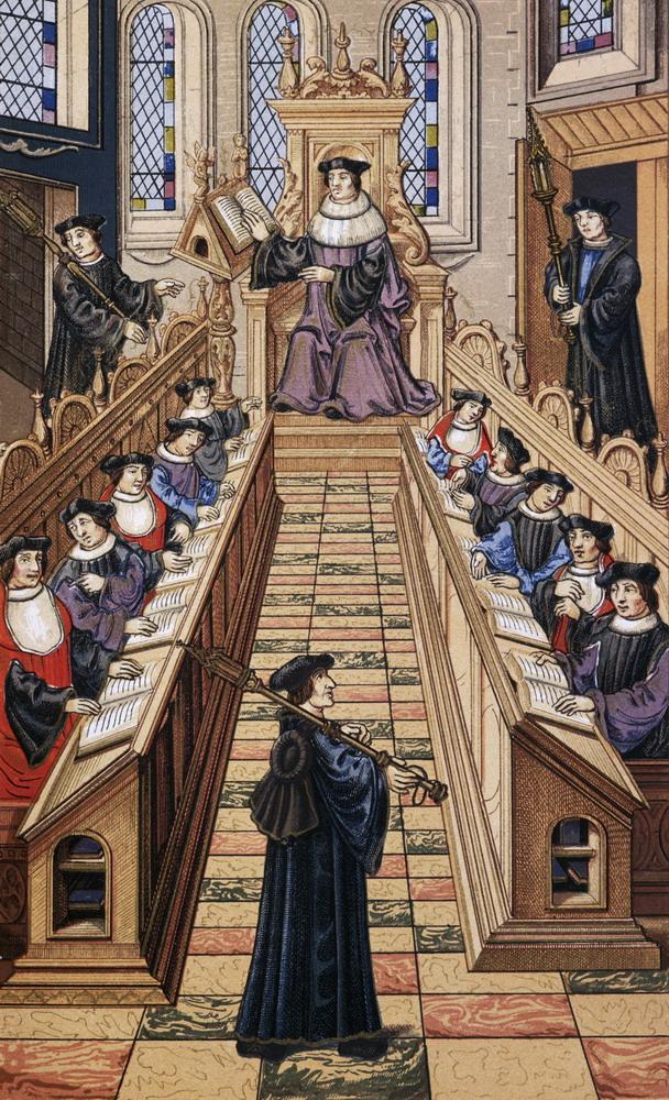 Первые университеты были весьма