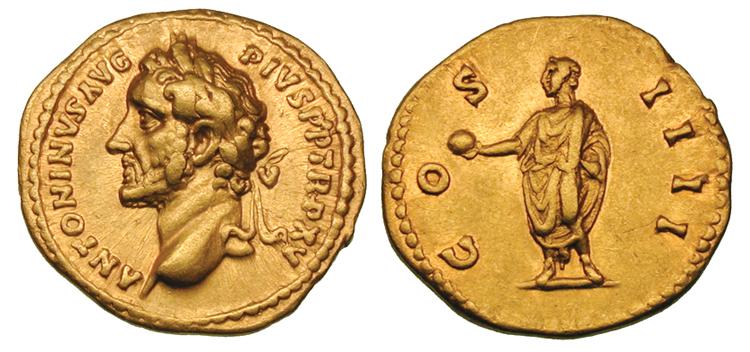 Монеты римской империи.
