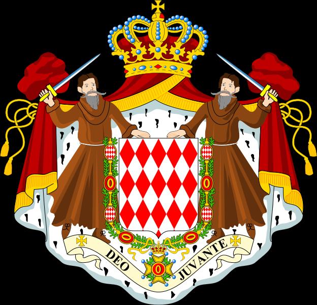 Герб Монако
