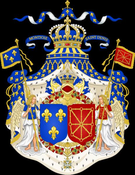 герб и флаг франции