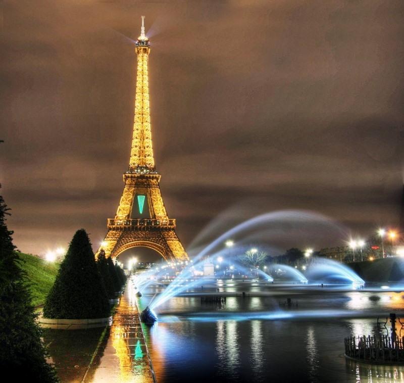 Париж — столица моды и любви !!!