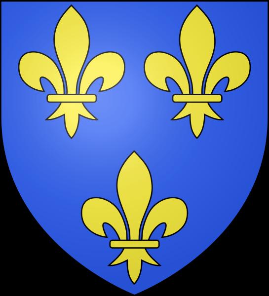 France moderne королевский герб 1376—1589
