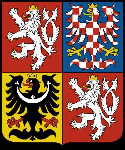 Эмблема богемии — белый лев с