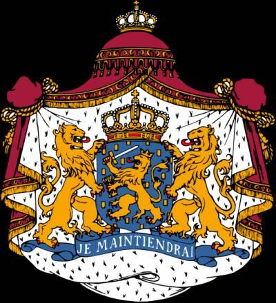 герб с двумя львами