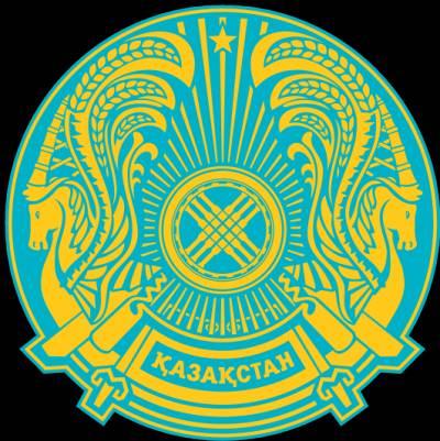 герб казахстана описание