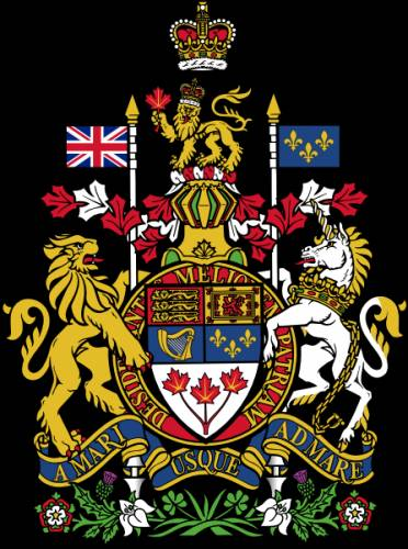 Герб кана́ды короле́вский герб